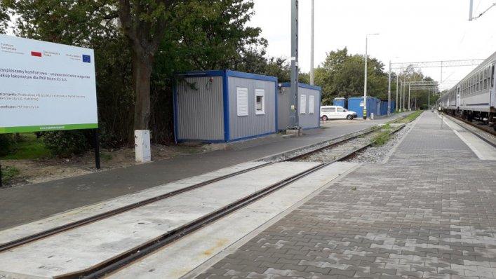Zakończenie prac na bocznicy kolejowej w Kołobrzegu