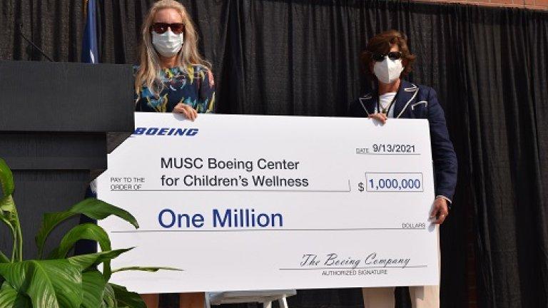 Boeing i Charleston County School District inwestują w Uniwersytet Medyczny Południowej Karoliny