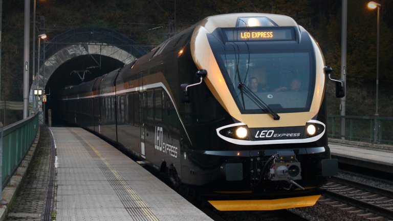 Leo Express z Pragi do Krakowa