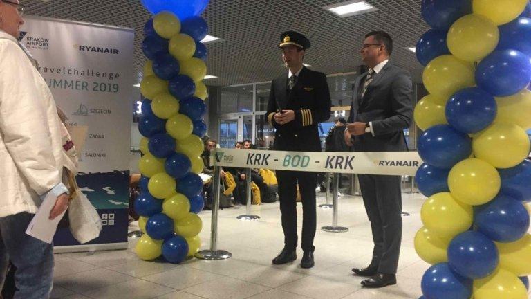 Lot z Krakowa do Bordeaux oficjalnie uruchomiony