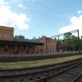 Stacja kolejowa w Świebodzicach - peron