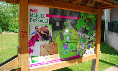 "Park ""Marcel Dassault"" w Beauvais"